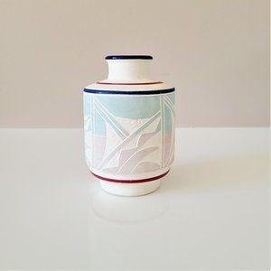 Southwestern style ceramic vase Mexico